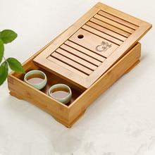 Kung Fu Tee-Set Massivholz Tees Tablett Holz Tablett Tee tablett Tee Chinesischen Ceremony Geschenke notwendig