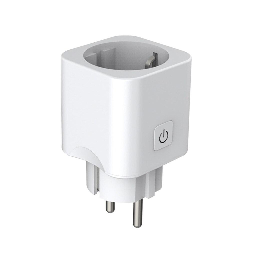 Mini Casa inteligente Plugue Wi-fi Interruptor Do Temporizador Tomada de Automação Trabalhar Com Alexa ForEcho/Google Casa Controle Remoto Plug UE 18Dec27