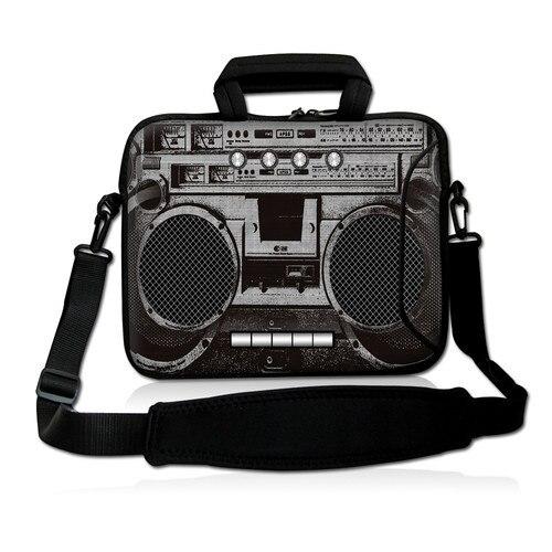 Старая кассета 10 Сумка для переноски ноутбука чехол с боковым карманом + наплечный ремень для 9,7 10,2 ноутбука планшета ПК
