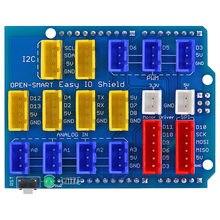 Fácil IO Escudo Fácil-plug colorido XH 2.54 milímetros tomada Sensor de Blindagem da Placa de Expansão para Arduino UNO/Leonardo /Mega2560