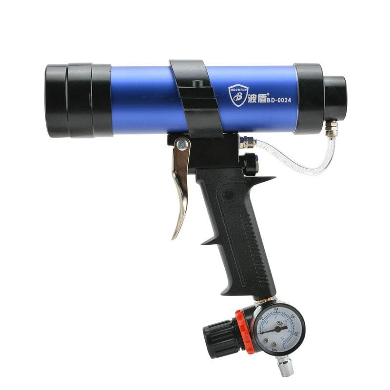 Animal glue gun 310/600ml glue gun pneumatic glass glue gun pneumatic glue gun with the speed of gas free shipping 600ml pneumatic glass glue gun speed adjustable air gluer quick air exhaust sausag type soft package glue combo 1