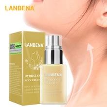 LANBENA Hydrating Neck Cream Anti Wrinkles Moisturizing Nourishing Reduce Fine Lines Firming Relieving Sagging Neck Skin Care