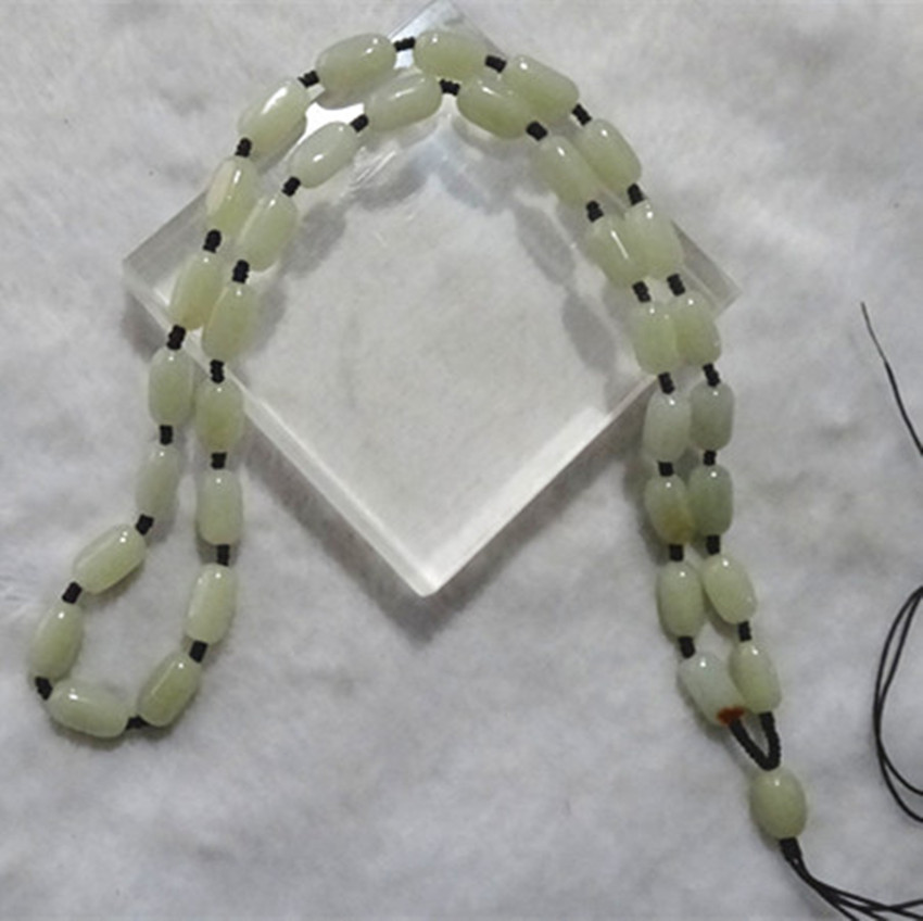 Hetian stone necklace for men and women Green opal necklace all sorts/