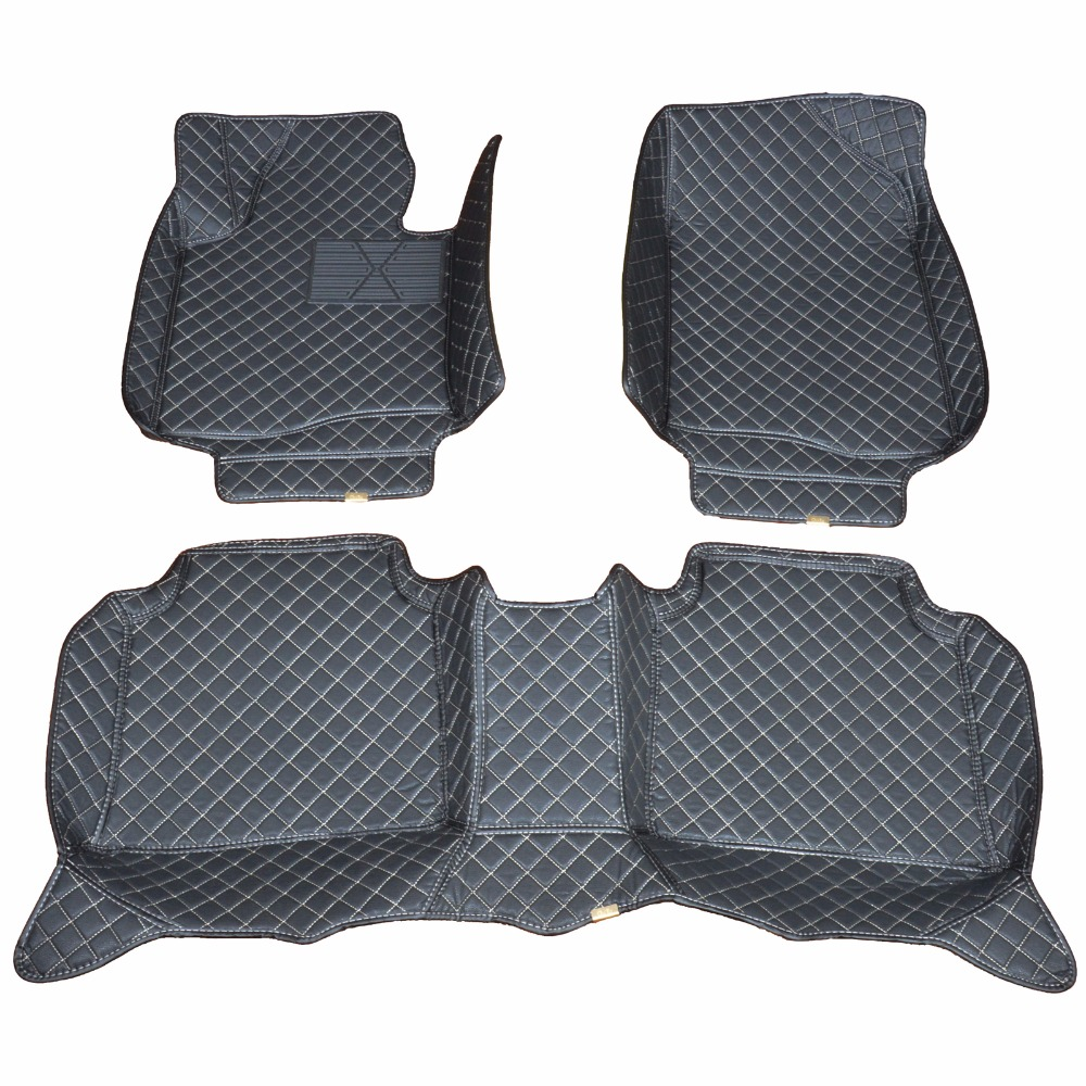 Custom car floor mats for 2008-15 Hyundai Tucson Waterproof antiskid to enhance safety dust proof easy cleaning beautiful special pads slip resistant rubber texture waterproof senior envionmental latex car floor mats for hyundai elantra