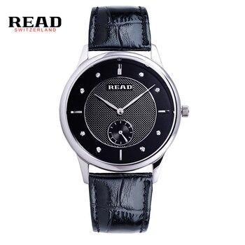 READ men watch the heart of the ocean couple table quartz watches R6025 дамски часовници розово злато