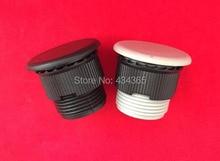 Free Shipping 5pcs  Plastic  Push Button Panel Plug  Cap 16mm Dia Thread