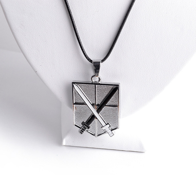 4 Corps Logo Necklace