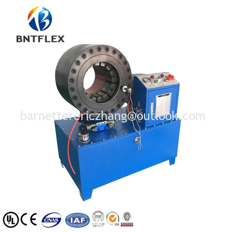 BNT 6 colių hidraulinis presavimo aparatas su 18 štampų rinkinių