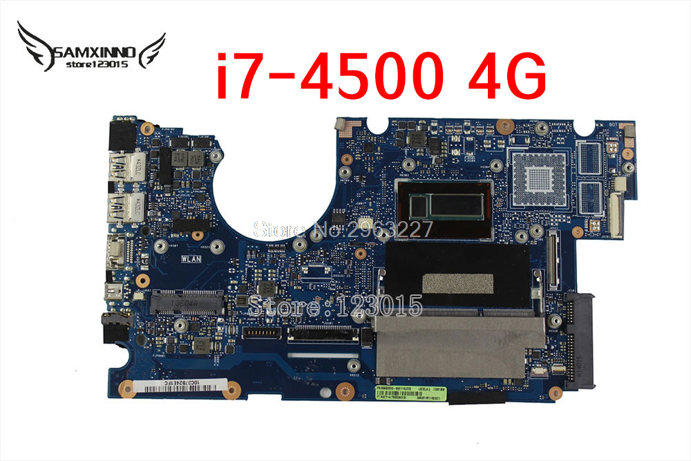UX32LA Motherboard REV2 0 i7 4500 4G Memory For ASUS UX32LA Laptop motherboard UX32LA Mainboard UX32LA