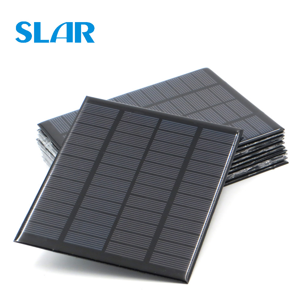 9V 12V 18V Solar Panel 1.5W 1.8W 1.92W 2W 2.5W 3W 5W 10W 20W Mini Solar Battery Cell Phone Charger Portable DIY PV