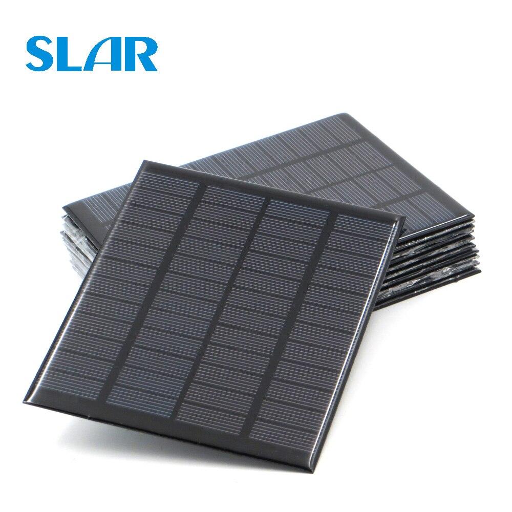 9V 12V 18V Solar Panel 1.5W 1.8W 1.92W 2W 2.5W 3W 5W 10W