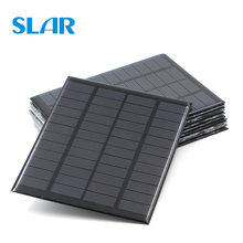 9V 12V 18V Solar Panel 1.5W 1.8W 1.92W 2W 2.5W 3W 5W 10W 20W Mini Solar Battery Cell Phone Charger Portable DIY PV(China)