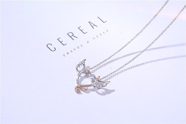 devil heart necklace