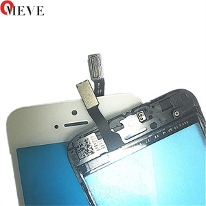 Image 4 - Touch Screen Digitizer + Frame For iPhone 6 6S 6P 5S 5C 5G 7G 7P Plus Touchscreen Front Touch Panel Glass Lens Phone Accessories