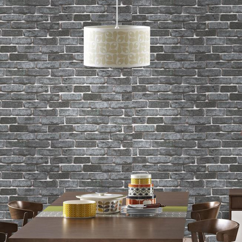 Aliexpress.com : Buy Stacked Brick 3D Stone Wallpaper