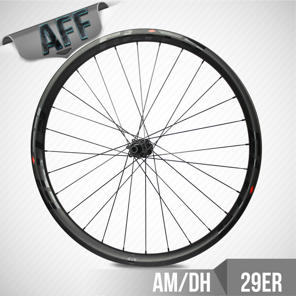 ELITE 29er Carbon Mtb Wheel 40mm Width With DT350 Hub Mountain Bike Wheelset Tubeless  For Cross Country All Mountain Downhill cool price 2015 rt a3 carbon wrapped hub 26 inch light weight aluminum alloy flat mtb mountain bike wheelset 5 sealed bearings