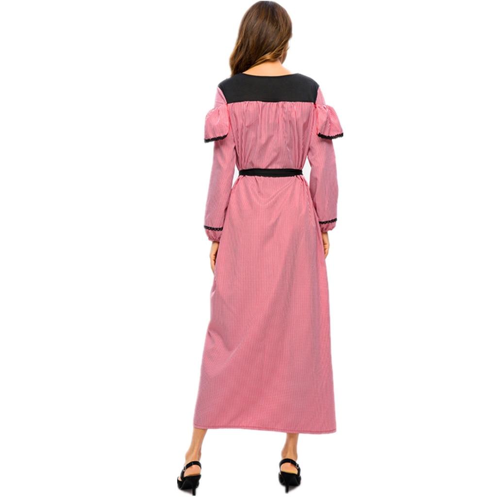 5a3e08d22 Cheap Vestido musulmán Ramadán ropa islámica musulmana mujer impreso vestido  de terciopelo de islámica Jilbab Abaya