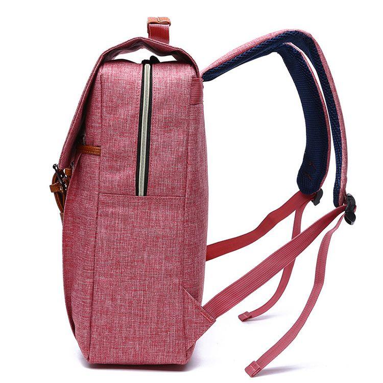 Image 3 - Women Canvas Backpack Casual Rucksacks Female 15 inch laptop Backpacks College Student School Backpack Women MochilaBackpacks   -