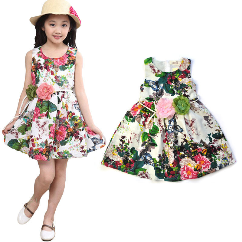 Aile Rabbit Flower Girls Dress Girl Children Clothing Brand Clothes Kids Toddler girls Dress for Princess Holiday Party Wedding aile rabbit fashion girl dress set girls summer dresses 2017 brand kids coat dress princess costume vestido infantil children