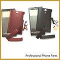 Черный/Красный Цвет в Исходном Для Sony Xperia Ion LT28i LT28H LT28 Полный Крышку Корпуса Чехол С Боковыми Кнопки Запасная Часть