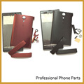 Black/Red Color Original For Sony Xperia Ion LT28i LT28H LT28  Full Housing Case Cover With Side Bottons Replacement Part