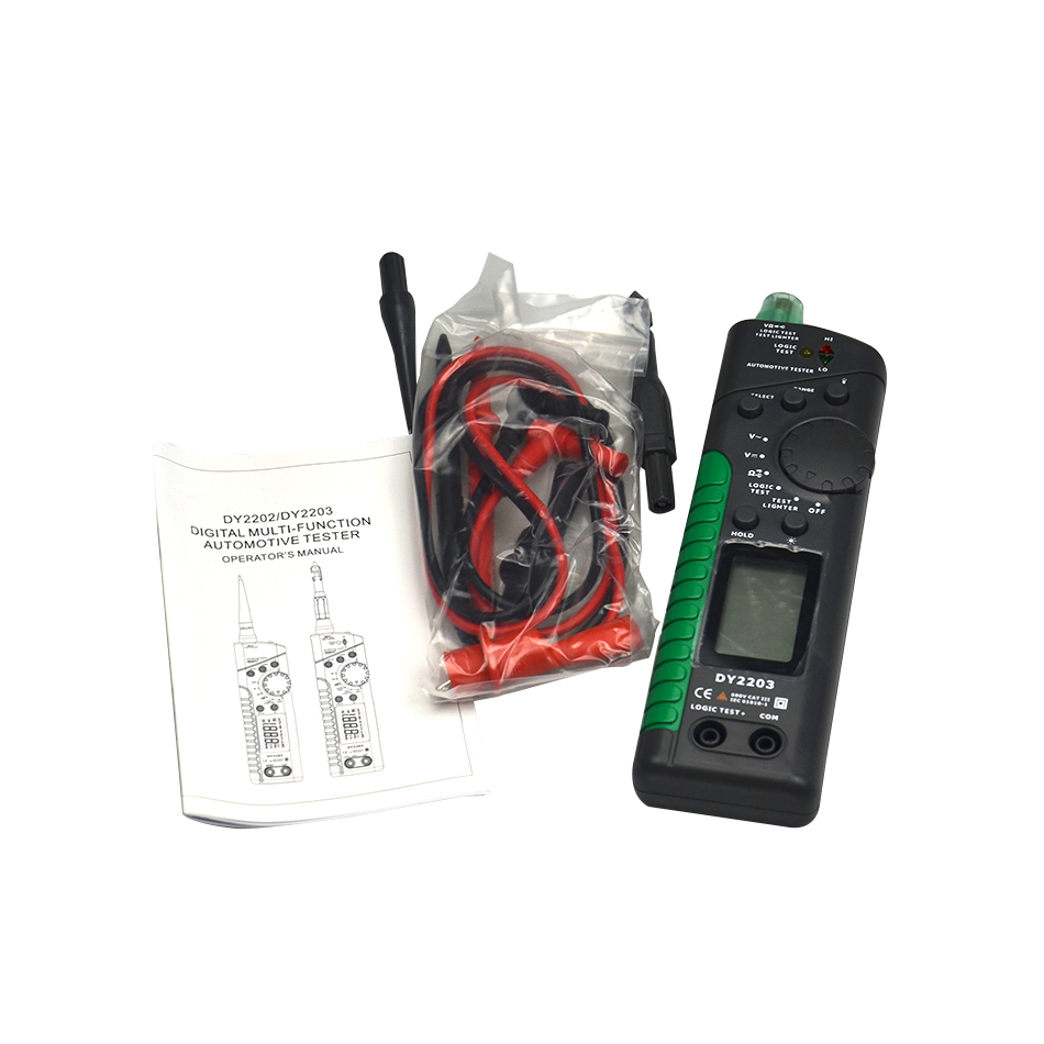All Sun Em287 Automotive Circuit Breaker Meter Test Device Car Testing Equipment Voltage Continuity Testers Free Shipping Professional Digital Finders Wire Cable Tracker Detecting Diagnostic Tool