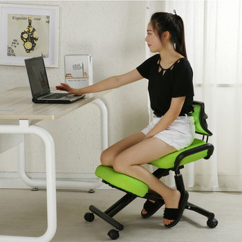 Ergonomically Designed Knee Chair with Back and Handle  1