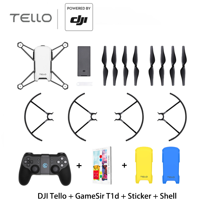 DJI Tello With GameSir T1d Controller Mini RC Quadcopter With 720 P Camera FPV Drone