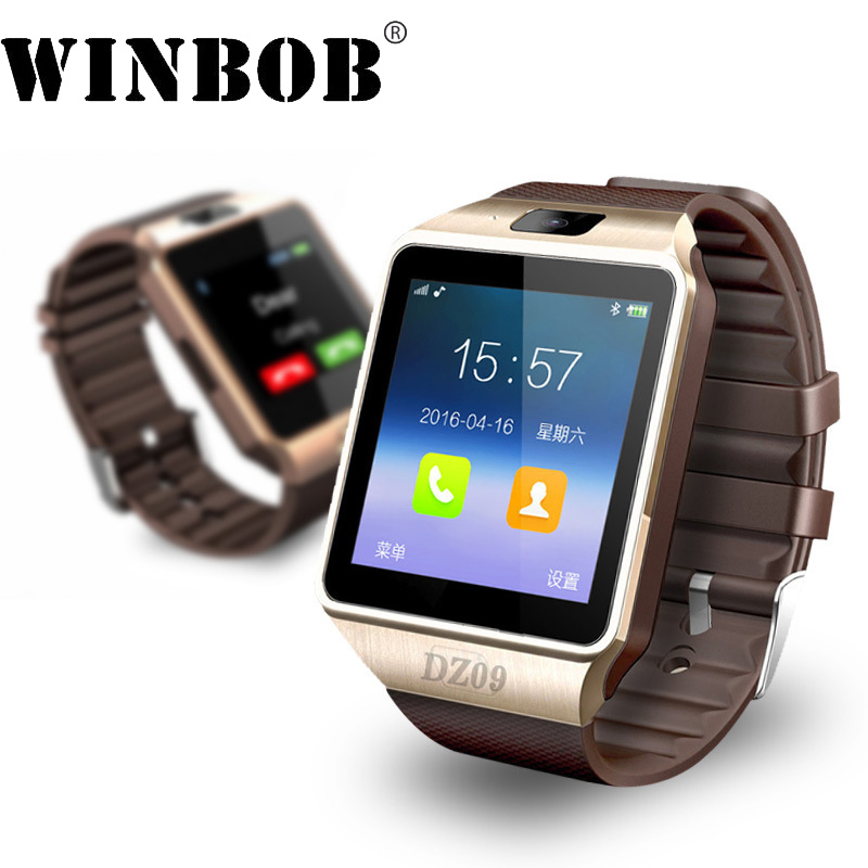 New Smart Watch dz09 With Camera Bluetooth WristWatch Support SIM Card Smartwatch For Android Phones Multi languages
