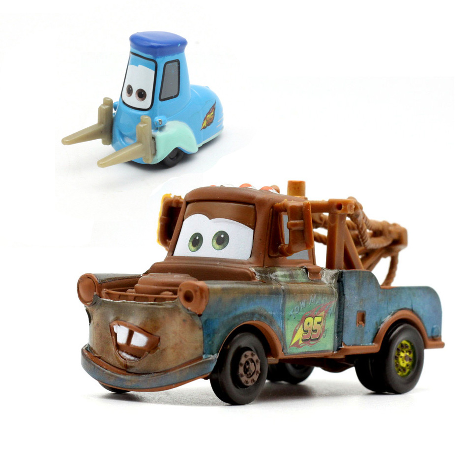 Disney Pixar Cars die Chino Cars Lightning McQueen Mater 1:55 Diecast Metal Alloy Toys Boys Girls Kids Toys for Birthday Party