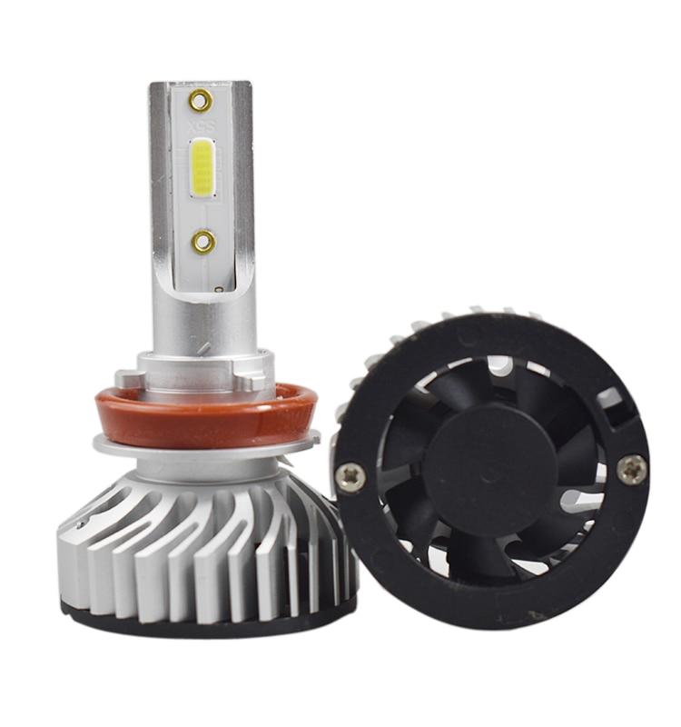 2 stücke H1 H3 H11 H4 Canbus H7 Led-lampen 6000 karat 10000LM Auto Scheinwerfer Kit 72 watt H8 H9 9005 9006 Auto Scheinwerfer Nebel Lichter