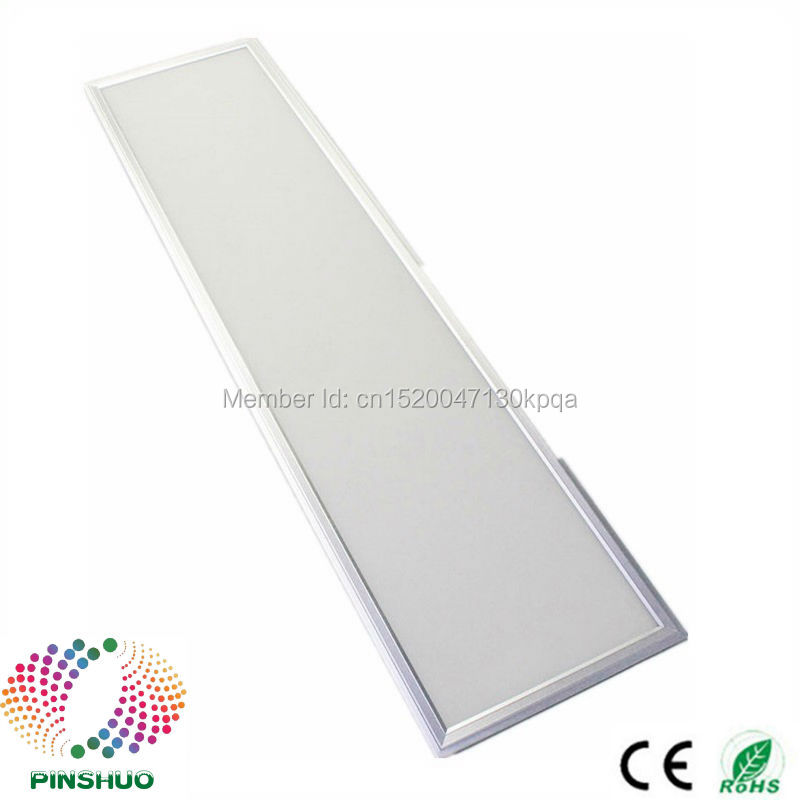 (8PCS/Lot) Warranty 3 Years 40W 30x120cm 300x1200 LED Panel Light Dimmable 300*1200 300x1200mm LED Downlight Down Lighting