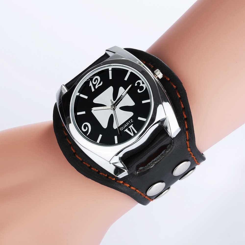 Vintage Cool Design Rock Punk Style Skull Watches Men ...