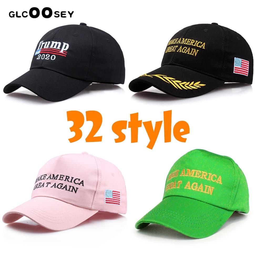 New Trump Baseball Cap 2020 Make America Great Again Republican Election Hat Caps Embroidered Trump President Cap Wholesale