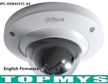 Dahua 4MP POE network IP camera IPC-HDW4431C-AS 1080P HD WDR Network IR Dome Camera IR 50M security CCTV ip camera