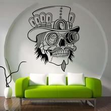 Украшение для Хэллоуина мексиканский череп шаблон собрать стикер на стену s для вечерние креативные домашний декор спальня ПВХ Настенная Наклейка на стену