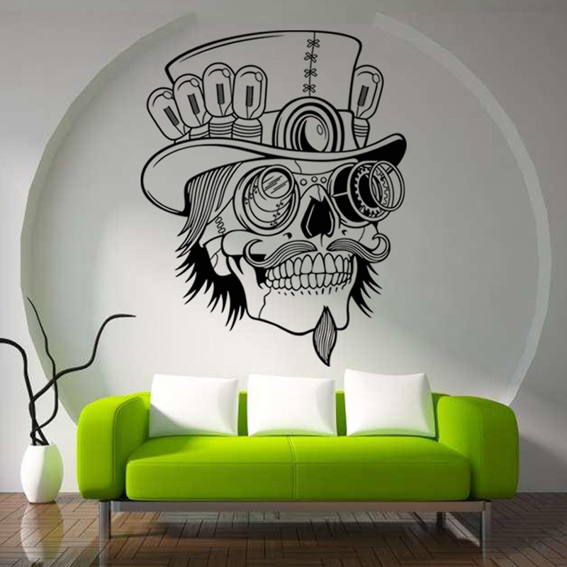 Halloween Decoration Mexican Skull Pattern Collect Wall
