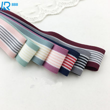 16mm / 1.6cm High quality stripe cotton ribbons DIY accessories hand made tape 5 yards/lot