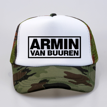 цена fashion Armin Van Buuren cap DJ Fans Trucker Mesh Cool Baseball caps Together In A State of Trance Cap Women Men Music Cap Hat онлайн в 2017 году