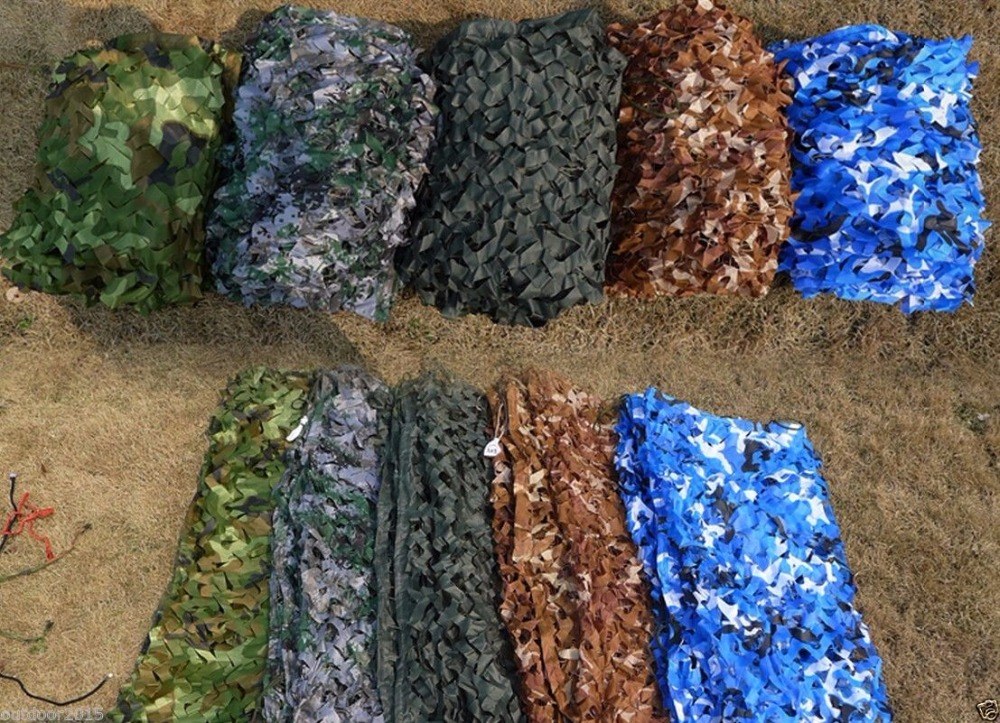 VILEAD 9 colors  4M*5M camouflage netting camo net for forest pretend exposure pool shade shed shade party decoration car coversVILEAD 9 colors  4M*5M camouflage netting camo net for forest pretend exposure pool shade shed shade party decoration car covers