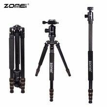 Zomei Z668アルミプロフェッショナル三脚一脚 + ボールヘッド一眼レフカメラ用ポータブル一眼レフカメラよりもスタンドQ666