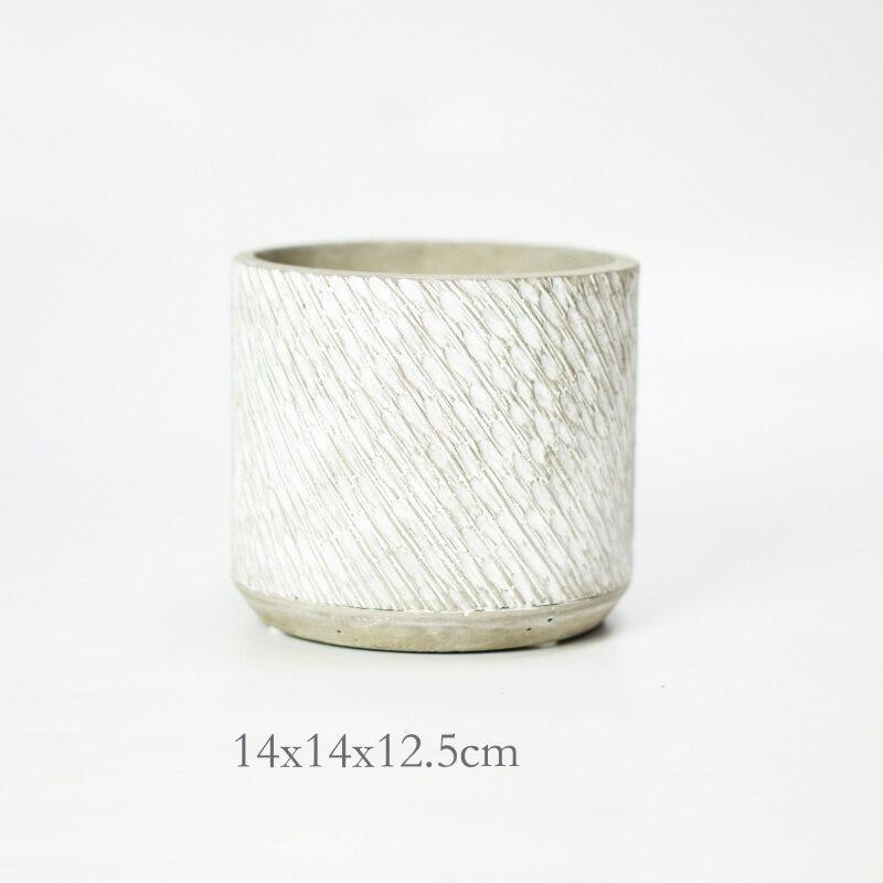 Zylindrischen zement blumentopf silikon form grüne pflanze sukkulenten beton blumentopf mold home dekoration und möblierung form-in Lehm-Formen aus Heim und Garten bei  Gruppe 3