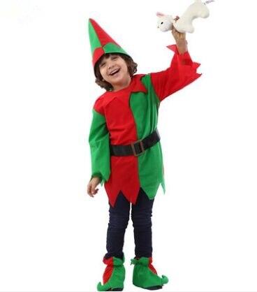 Funny Navidad disfraces para niños Halloween Cosplay para niños rojo verde  trajes de hadas para niños divertido ropa de Navidad en Disfraces niños de  La ... 96a4cf78e045