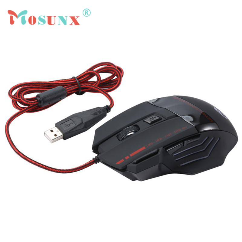 2.4GHz Wired USB LED Gaming Optical Mouse 5500DPI 8 Butttons keyboard Set Mice For Laptop PC Desktop Multimedia Rato 17July21