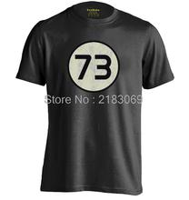 The Big Bang Theory 73 Mens & Womens Summer Short Sleeves Cotton Fashion T shirt