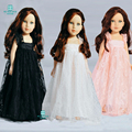 Doll Accessories Formal dress plaid dress for 45 cm American Girl doll and our generation doll