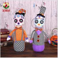 2018 Halloween Decorations Halloween Party or Bar Decorations Skull Ornament