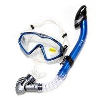 H446 Ücretsiz kargo Dalış ekipmanları ayna takım dalış maskesi yüzme gözlük tüm kuru solunum tüp suit