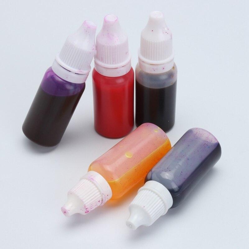 KiWarm 12pcs 15ml Useful Crystal Epoxy Resin Pigment UV Resin ...