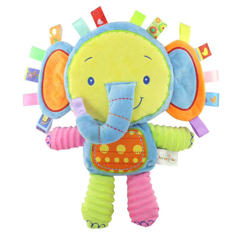 Cartoon Baby Bed Stroller Toys Baby Crib Mobile Newborn Cotton Baby Rattle hand Bell Toy Infant speelgoed 0-12 months